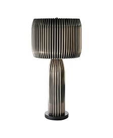 Crimp Table Lamp