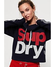 Superdry Athletico Crop Hoodie