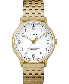 Timex Waterbury Classic 36mm Stainless Steel Bracelet Watch