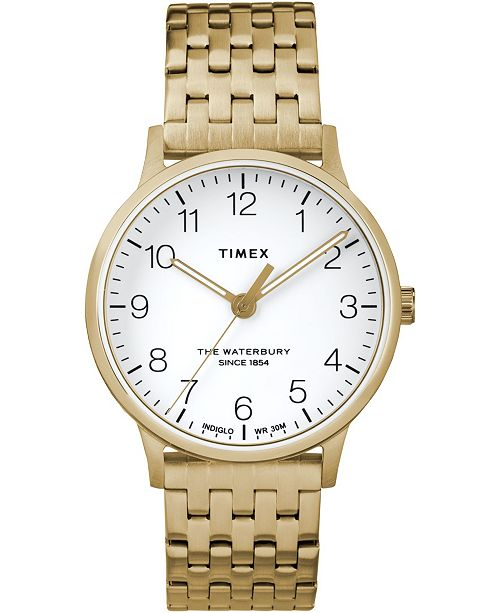 Timex Boutique Timex Waterbury Classic 36mm Stainless Steel Bracelet Watch