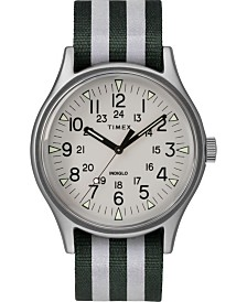 Timex Mk1 Aluminum 40mm Reflective Fabric Watch