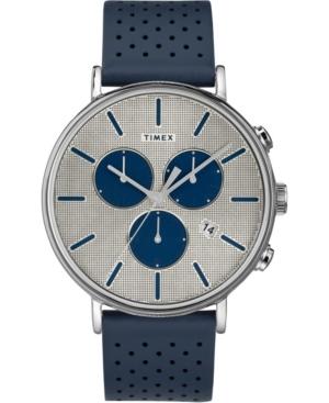 Timex Fairfield Supernova Chronograph 41mm Leather Strap Watch