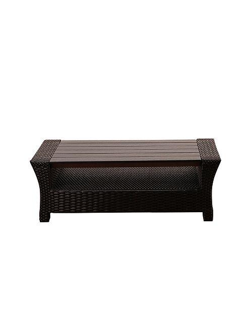 Amazonia Patio Coffee Table Rectangular