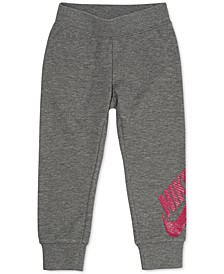 Little Girls Futura Tapered-Fit French Terry Logo Joggers