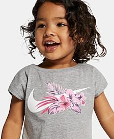 Toddler Girls Wonderland Swoosh Logo T-Shirt