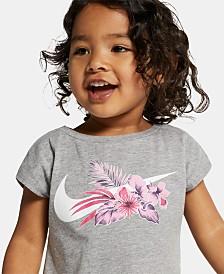 Nike Toddler Girls Wonderland Swoosh Logo T-Shirt