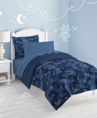Geo Camo 5-Pc. Twin Bed-in-a-Bag