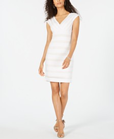 Adrianna Papell Banded Bodycon Dress