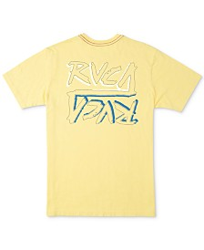 RVCA Men's Offset Logo T-Shirt