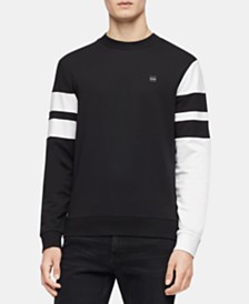 Calvin Klein Men's Color Blocked Stripe Sweatshirt