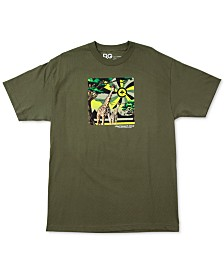 LRG Men's Motherland Cycle Cotton Graphic T-Shirt