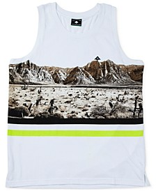 Men's Desert Cotton Graphic Tank Top