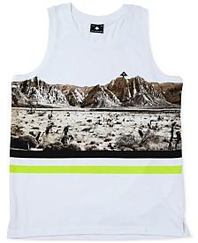 LRG Men's Desert Cotton Graphic Tank Top
