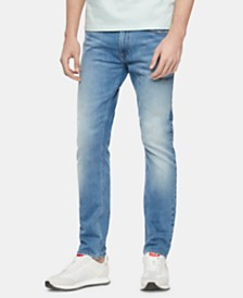 Calvin Klein Jeans Men's Athletic-Fit Tapered Jeans