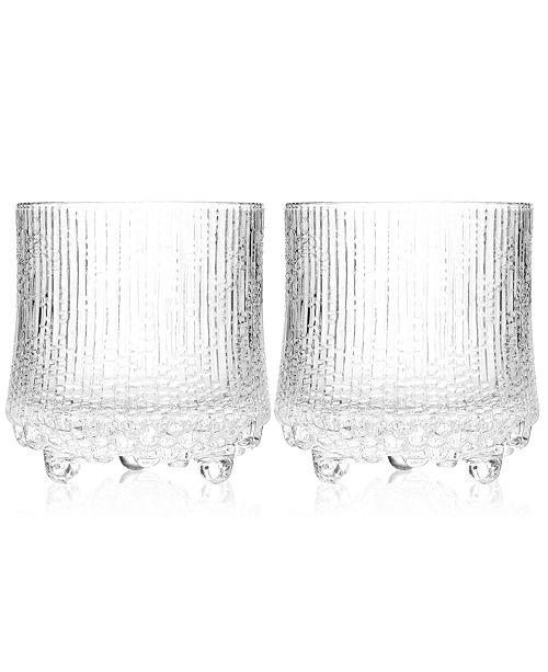iittala Glassware, Set of 2 Ultima Thule Double Old Fashioned Glasses