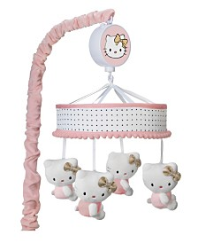 Lambs & Ivy Hello Kitty Musical Baby Crib Mobile