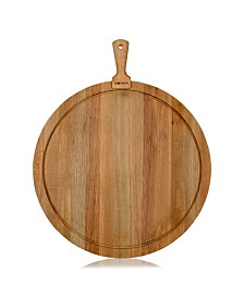 Friends Collection Extra Large Round Oak Cheese and Tapas Board