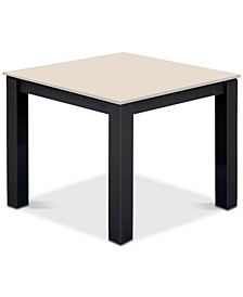 Amari Parchment Outdoor End Table