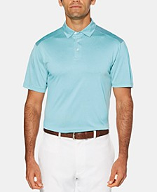 Men's Striped Golf Polo