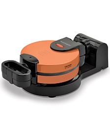 Toastmaster Low Profile Copper Flip Waffle Maker