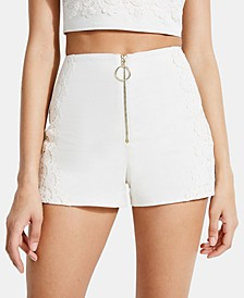 Caylin Lace-Detail Shorts