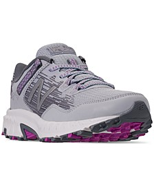 Women's 410 V6 Wide Trail Running Sneakers from Finish Line
