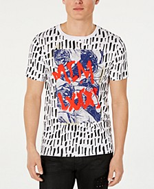 Men's Graffiti-Style T-Shirt