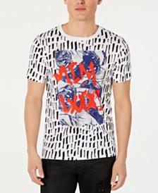 GUESS Men's Graffiti-Style T-Shirt