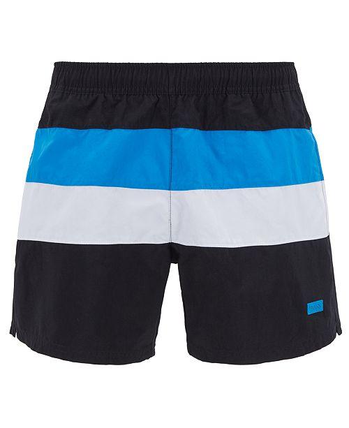 Hugo Boss BOSS Men's Colorblocked Swim Shorts