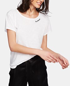 1.STATE Embroidered Top