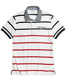 Men's  Samuel Polo Shirt with Magnetic Closures