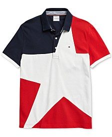 Tommy Hilfiger Adaptive Men's  Larkin Polo Shirt with Magnetic Closures