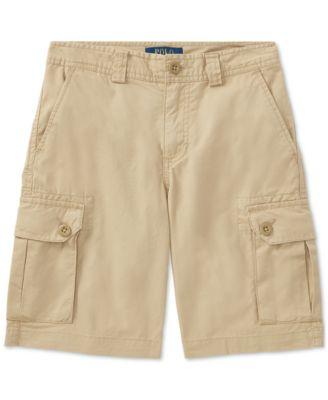 Big Boys Cotton Chino Cargo Shorts