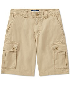 Big Boys Cotton Chino Cargo Shorts