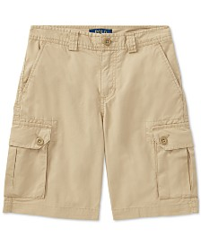 Polo Ralph Lauren Big Boys Cotton Chino Cargo Shorts