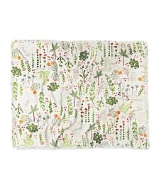 Iveta Abolina Floral Goodness Iv Woven Throw Blanket