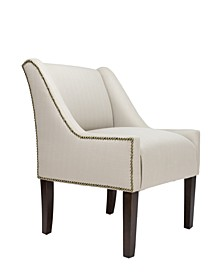 Racer Upholstered Accent Chair