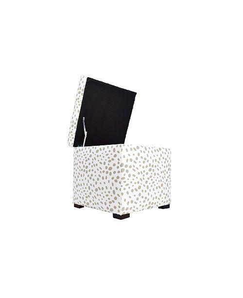 Surprising Sole Secret Retro Upholstered Shoe Storage Ottoman Inzonedesignstudio Interior Chair Design Inzonedesignstudiocom