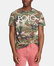 Polo Ralph Lauren Men's Big & Tall Camo T-Shirt