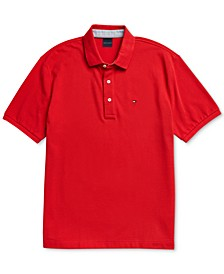 Men's Polo Shirt with Magnetic Buttons