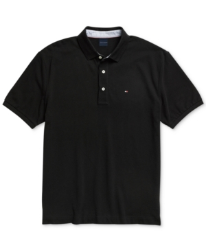 Tommy Hilfiger Adaptive Men's Custom Fit Polo Shirt with Magnetic Buttons