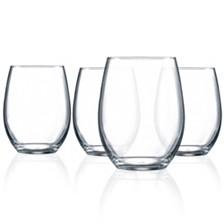 Luminarc Cachet Stemless Wine Glass - Set of 4