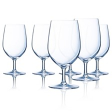 Luminarc Domaine Stemmed All Purpose Glass - Set of 6