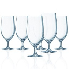 Grand Vin Stemmed All Purpose Glass - Set of 6