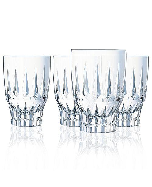 Cristal d'Arques Cristal D' Arques Ornements Highball - Set of 4