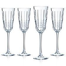 Cristal D' Arques Rendez-vous Flute - Set of 4