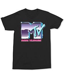 MTV Metallic Logo Men's Graphic T-Shirt