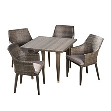 Lenox Outdoor 5pc Dining Set, Quick Ship