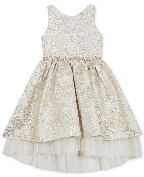 Rare Editions Toddler Girls Brocade Dress