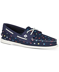 Men's A/O 2-Eye Prep Nautical Boat Shoes